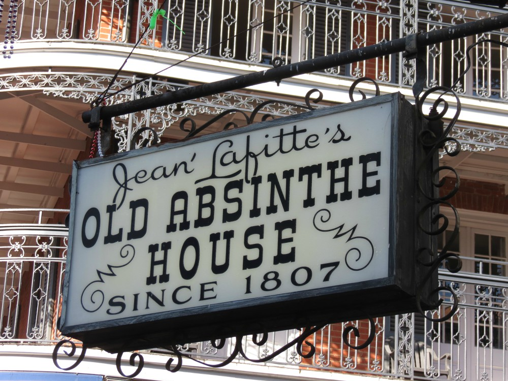 Lafittes-Absinthe-House-is-a-popular-New-Orleans-bar